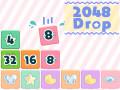 Spēles 2048 Drop
