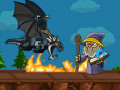 Spēles Dragon vs Mage