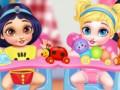 Spēles Messy Baby Princess Cleanup