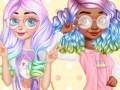 Spēles Princesses Kawaii Looks and Manicure
