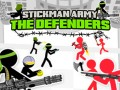 Spēles Stickman Army: The Defenders