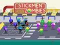 Spēles Stickmen vs Zombies